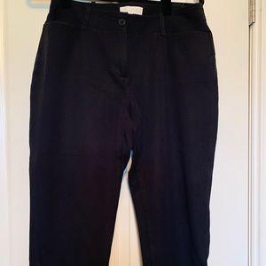 Black Talbots Pants